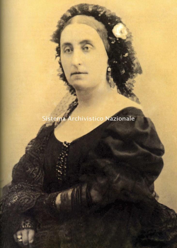 Ritratto di Giuseppina Strepponi, 1877 (Archivio di Villa Verdi)