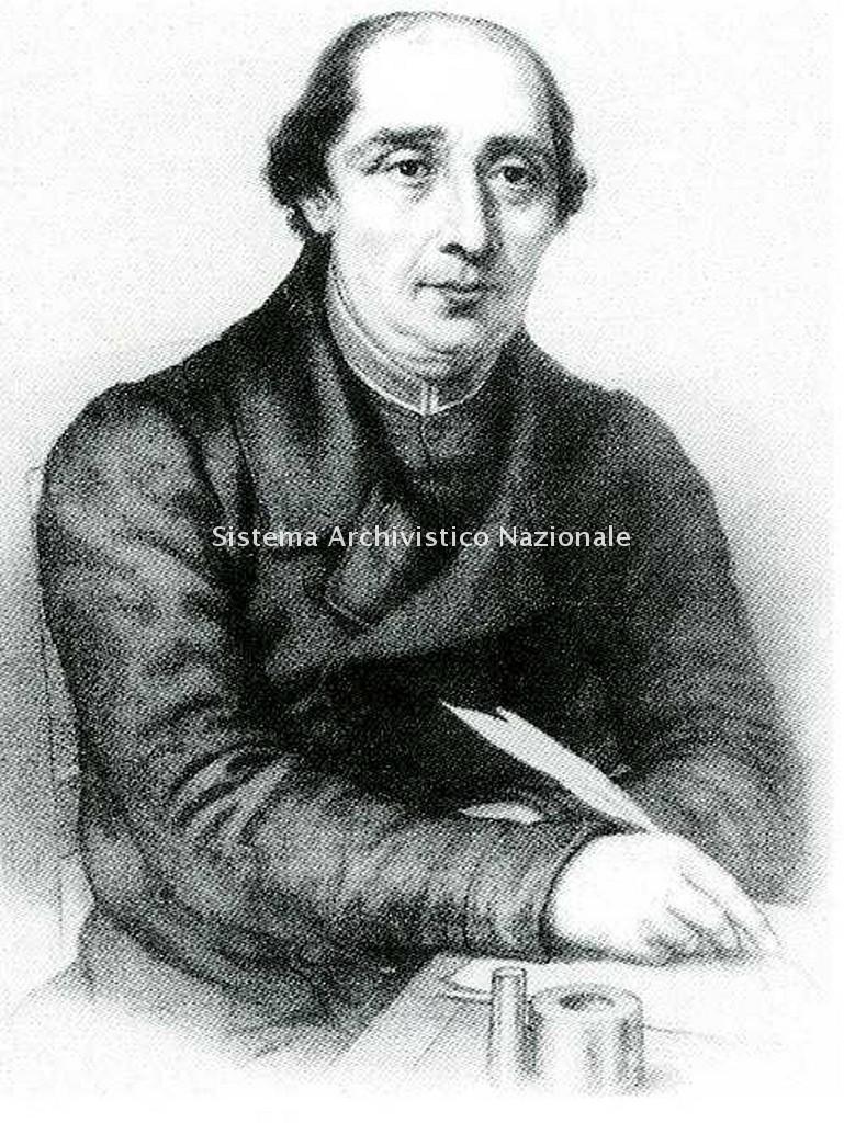 Ritratto di Pietro Seletti insegnante di Giuseppe Verdi al ginnasio di Busseto, sec. XIX inizio (Collezione privata)
